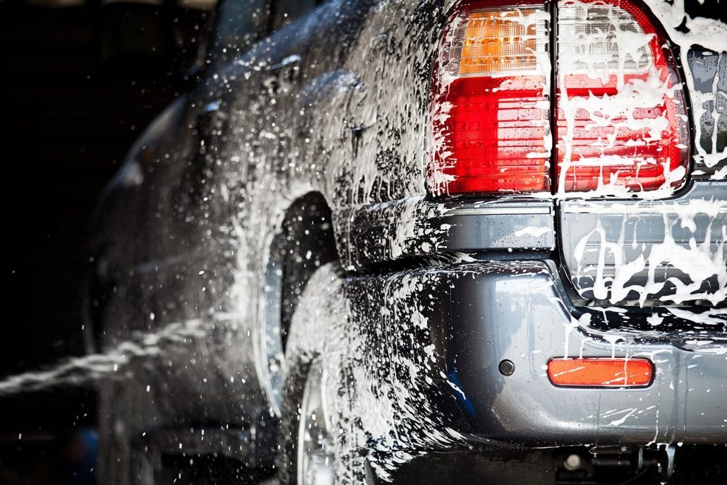 Presoak Car Wash | Arcadian Services