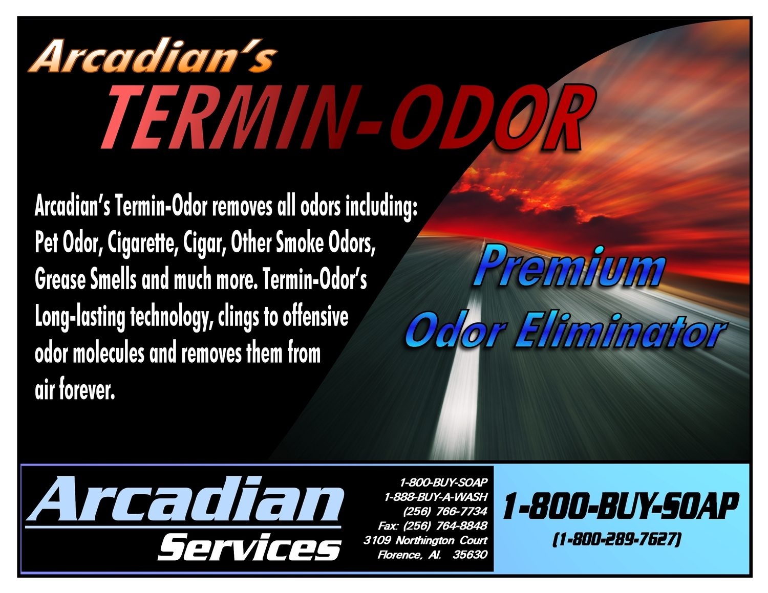 Specialty Products   Arcadian Services